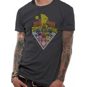 Power Rangers - Group Men's Small T-Shirt - Grey
