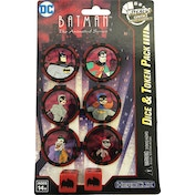 DC Comics HeroClix: Batman The Animated Series Dice & Token Pack