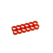 E22 12-Slot Stealth Cable Comb - Red