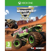 Monster Jam Steel Titans Xbox One Game