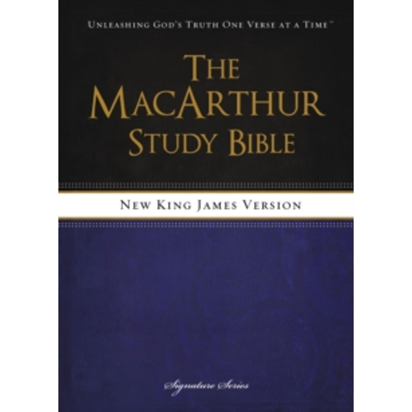 NKJV, The MacArthur Study Bible, Hardcover : Revised and   Updated Edition