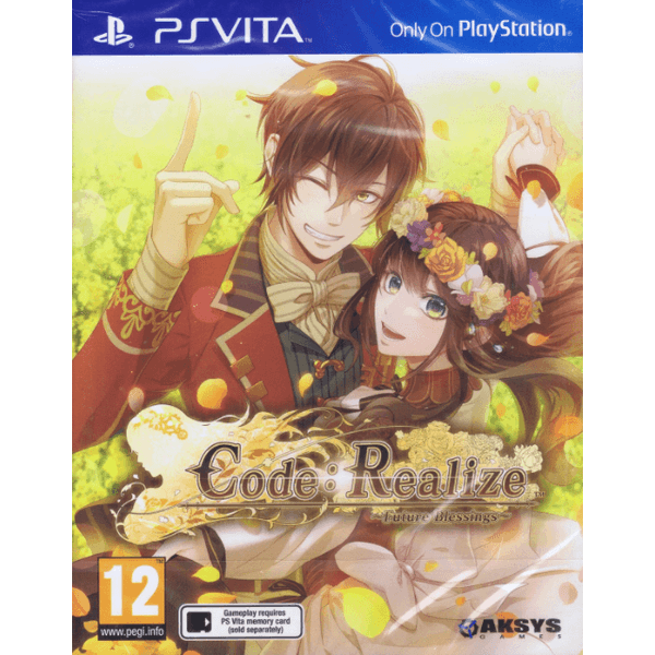 Code Realize Future Blessings PS Vita Game