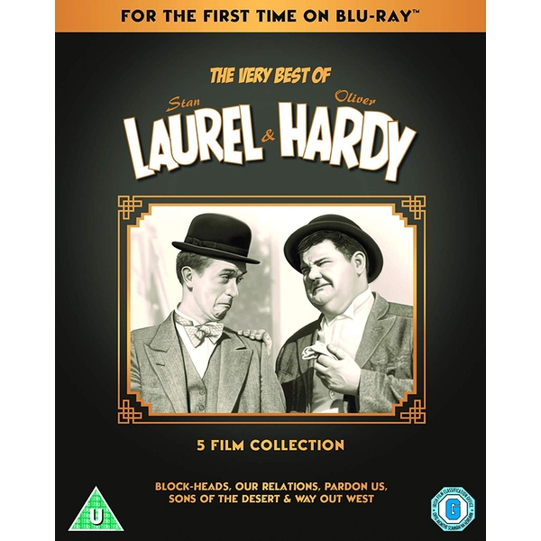 The Very Best Of Laurel & Hardy: 5-Film Collection Blu-ray