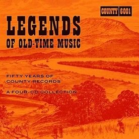 Legends Of Old Time Music -  Fifty Years Of County Records Vinyl