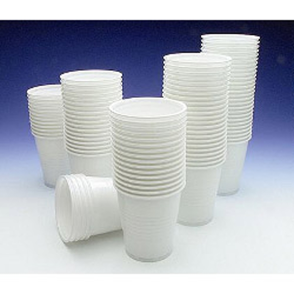 Caroline Plastic Cups - 7oz (200ml) 100