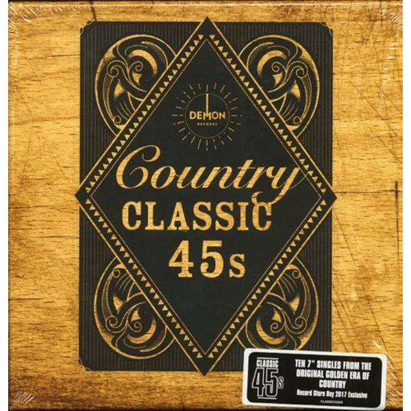 Various Artists - Country - Classic 45S Vinyl