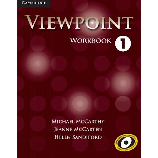 Viewpoint Level 1 Workbook by Helen Sandiford, Jeanne McCarten, Michael J. McCarthy (Paperback, 2012)