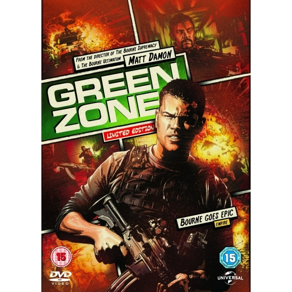 Reel Heroes Sleeve Green Zone DVD
