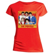 One Direction- Cool Women's X-Large T-Shirt - Red