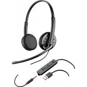 Plantronics Blackwire C325.1-M Stereo Headset USB & 3.5mm