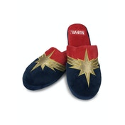 Captain Marvel Adult Mule Slippers UK Size 5-7
