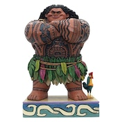 Ex-Display Maui Daring Demigod (Moana) Disney Traditions Figurine Used - Like New