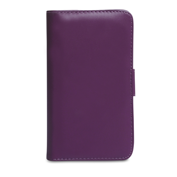 YouSave Accessories Nokia Lumia 720 Leather-Effect Wallet Case - Purple - Image 2