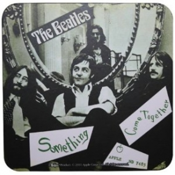 The Beatles Come Together Single Coaster