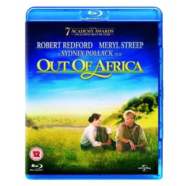 Out Of Africa 2014 Blu-ray
