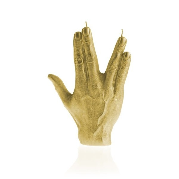 Classic Gold Hand SPCK Candle
