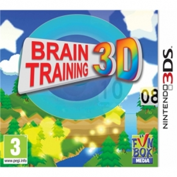 Brain Training 3D Game 3DS