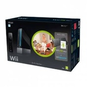 Wii Console Black with Wii Fit Plus and Balance Board in Black + Motion Plus Controller Wii