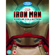 Iron Man 1-3 Blu-ray