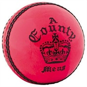 Readers County Crown Cricket Ball Pink - Womens