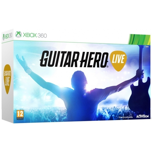 Guitar Hero Live with Guitar Controller Xbox 360 Game