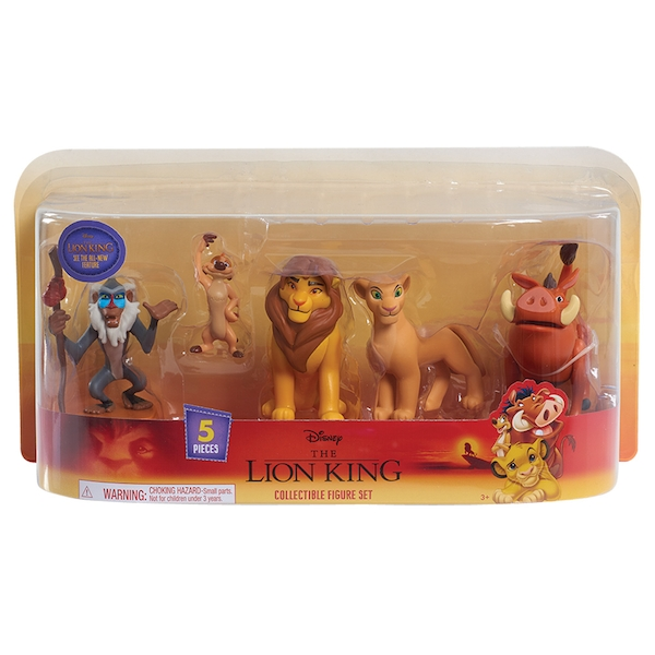 The Lion King Classic 5 Pack Disney Figures
