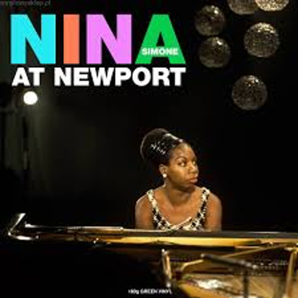 Nina Simone ‎– Nina At Newport Green Translucent Vinyl