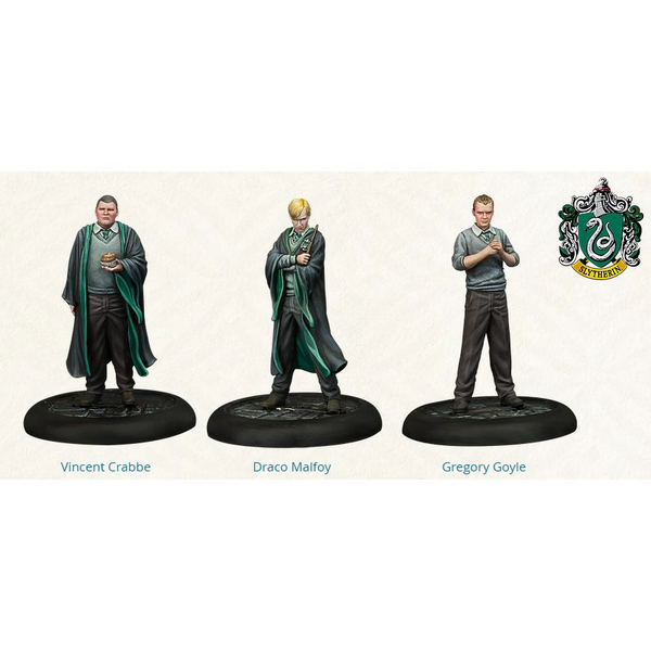 Harry Potter Miniatures Adventure Game Slytherin Students Expansion Board Game