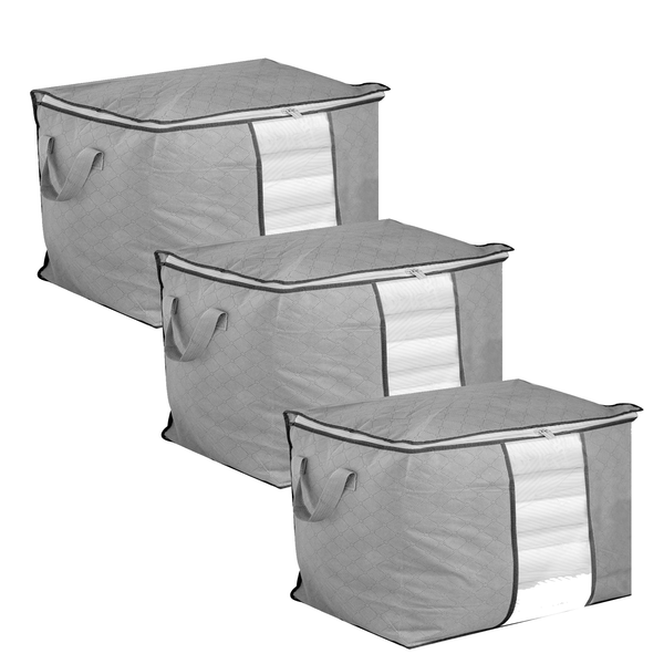 Set of 3 Storage Bags | Pukkr Horizontal