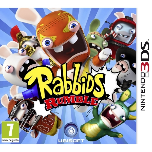 Rabbids Rumble Game 3DS