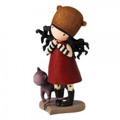 Santoros Gorjuss Purrrrrfect Love Figurine
