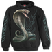 Serpent Tattoo Men's Small Hoodie - Black - Image 2