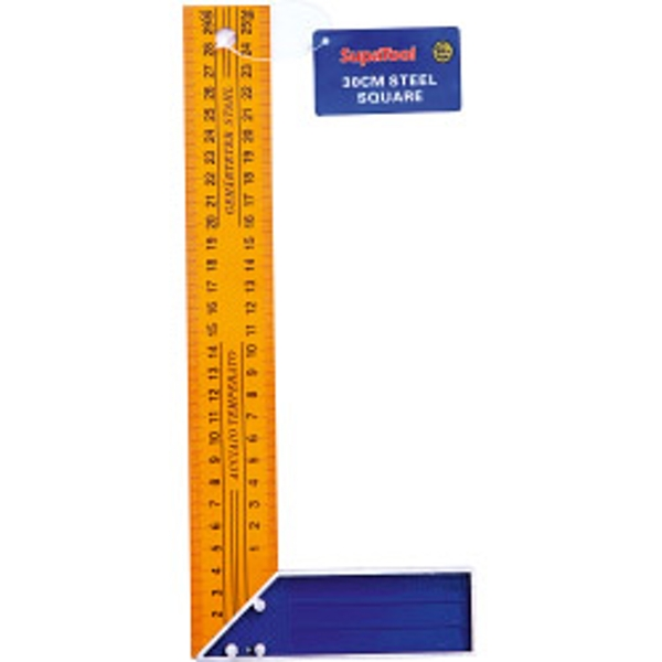 SupaTool Yellow Steel Square 300mm