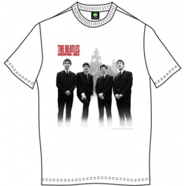 The Beatles The Beatles In Liverpool Mens Wht TS: XXL
