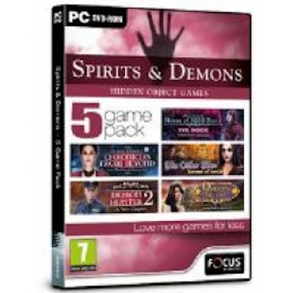 Focus Multimedia Spirits and Demons - 5 Game Pack Hidden Object Game for PC (DVD-ROM)