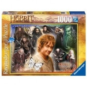 The Hobbit Bilbo's Quest Panoramic Jigsaw Puzzle