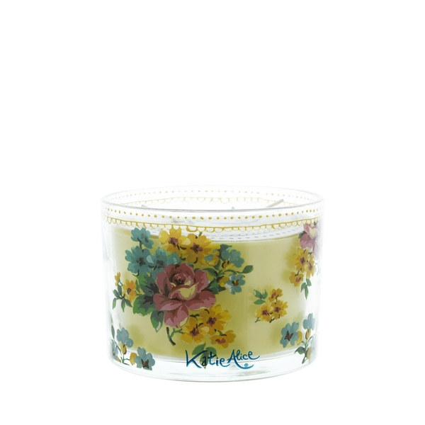 Katie Alice Bohemian Spirit 2 Wick Wax Filled Candle Pot Amber Lily Scent