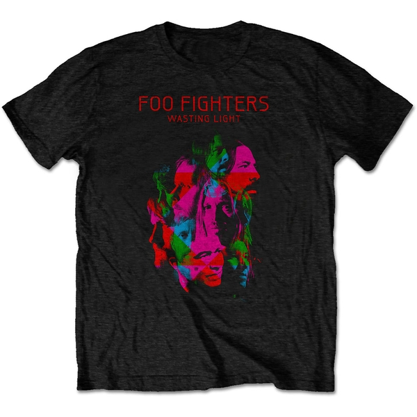 Foo Fighters - Wasting Light Unisex X-Large T-Shirt - Black