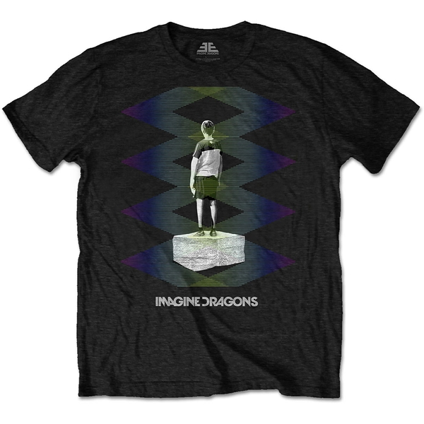 Imagine Dragons - Zig Zag Men's X-Large T-Shirt - Black