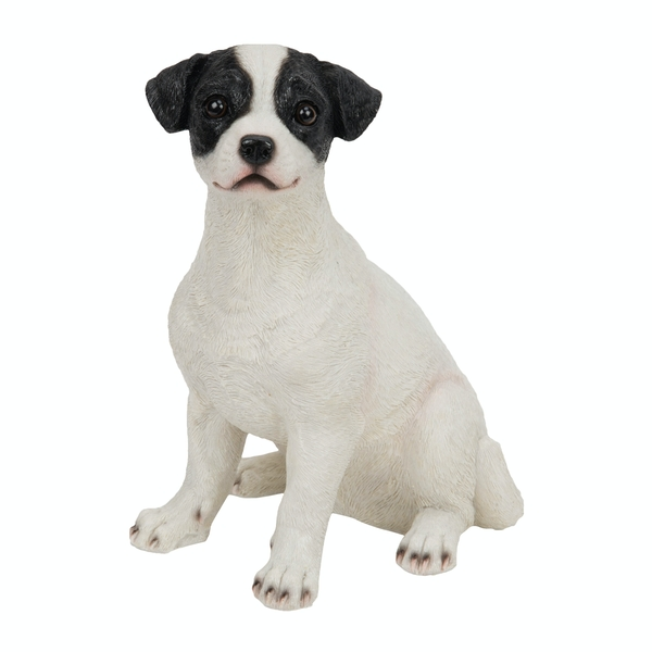 Jack Russell Sitting Down Pup Ornament