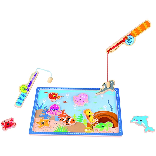 Wooden Fishing Activity Game