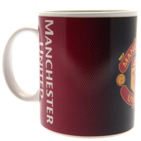 Manchester United FC Heat Changing Mug