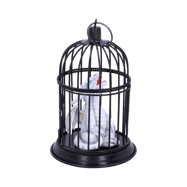 Pearl Pet Caged Dragon Ornament