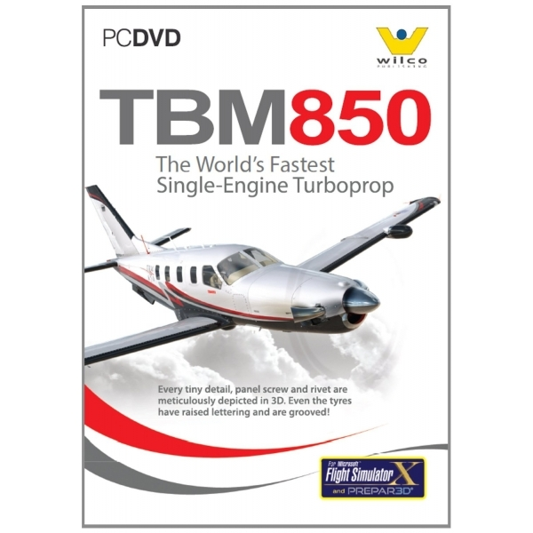 Socata TBM850 for FS2004 and FSX PC Game