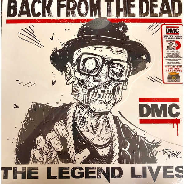 DMC - Back From The Dead - The Legend Lives Red Vinyl