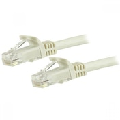 StarTech N6PATC50CMWH 0.5m Cat6 U/UTP (UTP) White Networking Cable