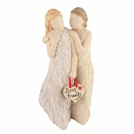 More than Words Figurines Best Friends