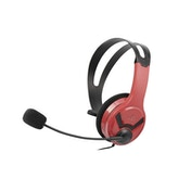 Official Licensed PS4 Wired Chat Headset Red for PS4
