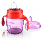 Philips Avent Easy Sip Spout Cup with Handle (200 ml, Pink)