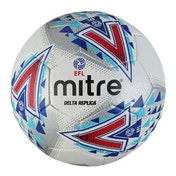 Mitre Delta EFL Replica Football White & Grey